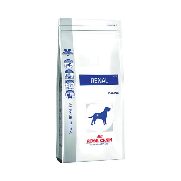 Royal Canin Veterinary Diet Dry Dog Food Renal 2 X 2kg