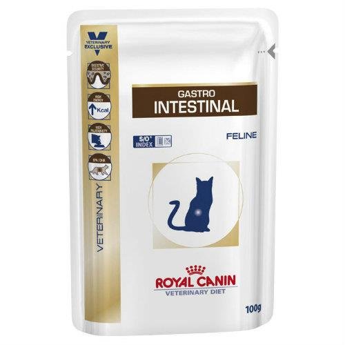 Royal Canin Veterinary Diet Feline Gastro Intestinal Pouches 12x85g