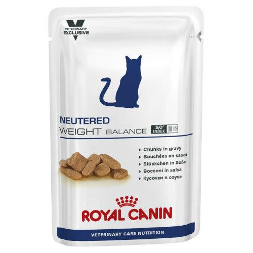 Royal Canin Veterinary Diet Feline Neutered Weight Balance Pouches...