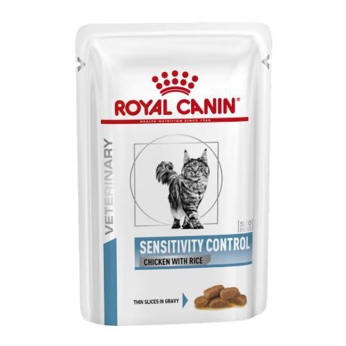 Royal Canin Veterinary Diet Feline Sensitivity Control Pouches 12x85g