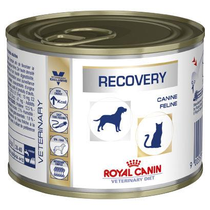 Royal Canin Veterinary Diet Recovery for Dogs and Cats 12x195g