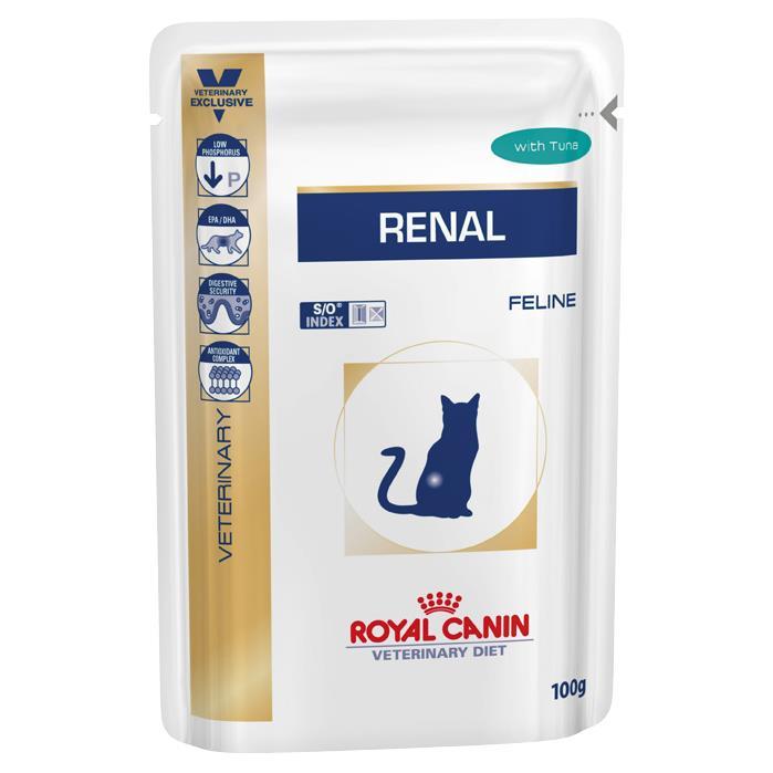 Royal Canin Veterinary Diet Renal Tuna Cat Food 12x85g