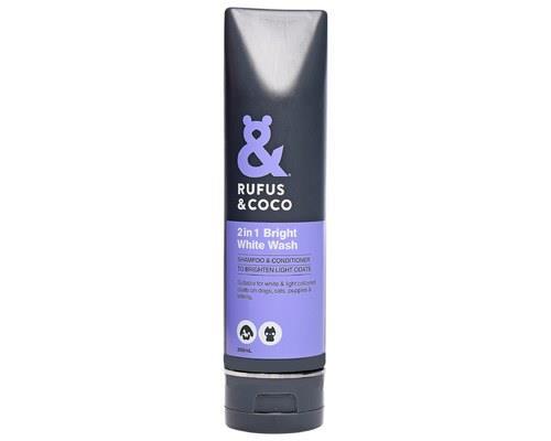 Rufus And Coco Bright White Wash 200ml
