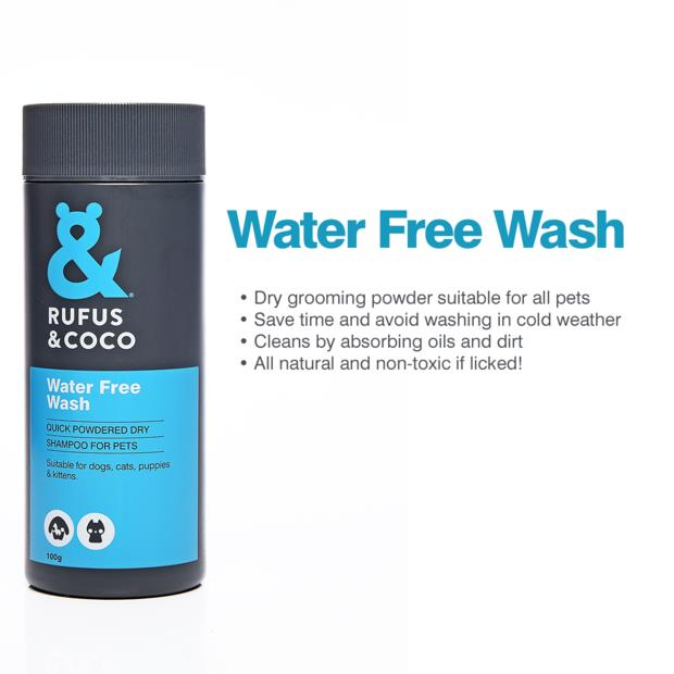 Rufus And Coco Water Free Wash 100g