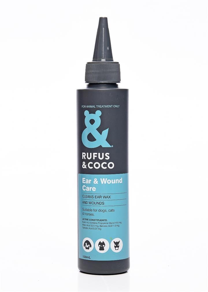 Rufus & Coco 150ml Ear & Wound Care