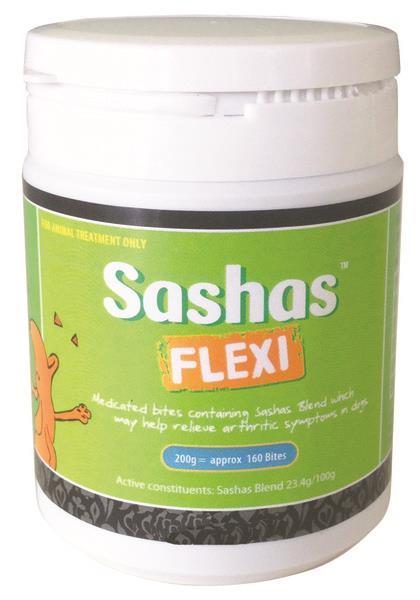 Sashas Flexi Bites 200g