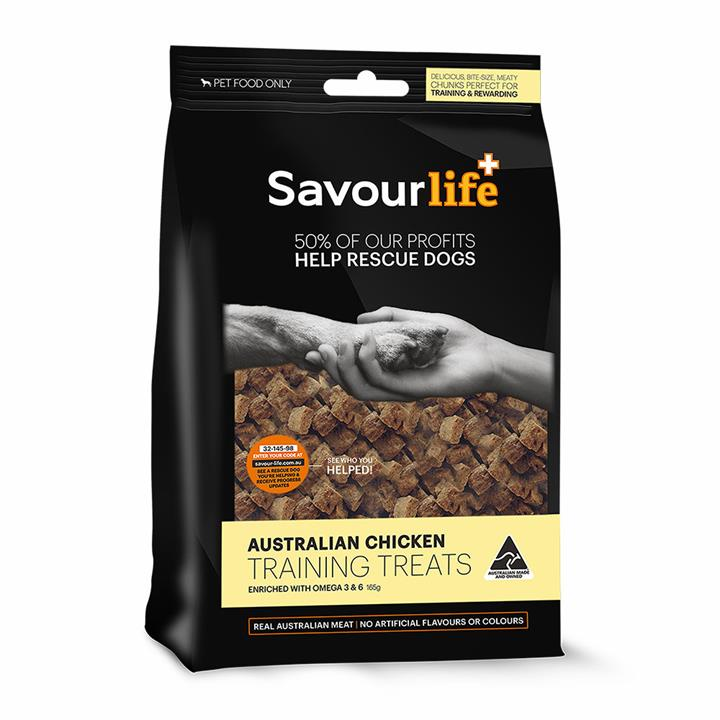 Savour Life Natural Treats Australian Chicken Training Treats 165g