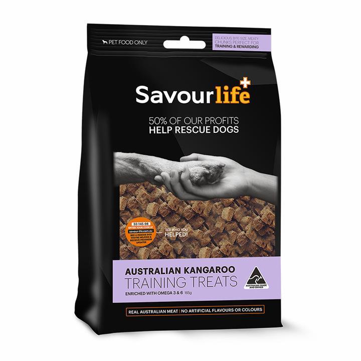 Savour Life Natural Treats Australian Kangaroo Training Treats 165g