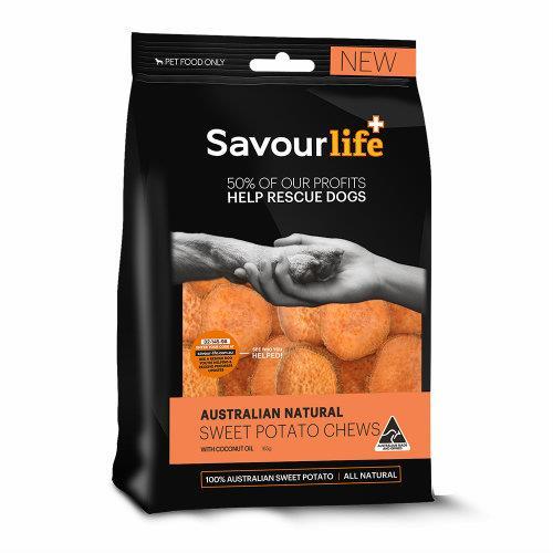 Savour Life Natural Treats Australian Sweet Potato Chews 150g