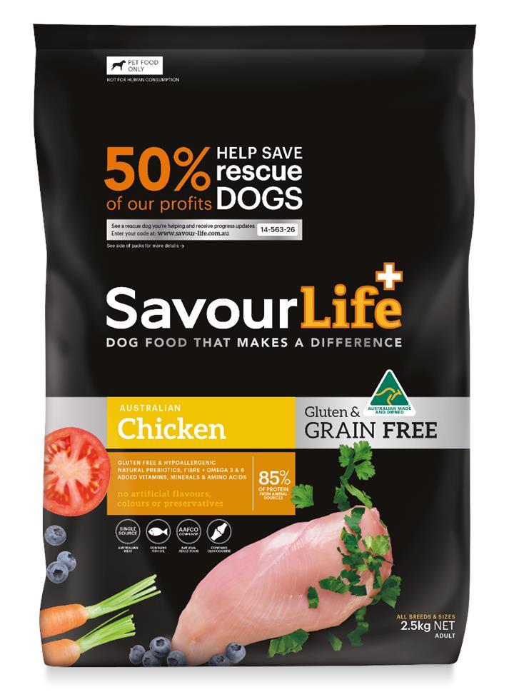 Savourlife Grain Free Dog Food Chicken