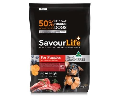 Savourlife Grain Free Puppy Made With Australian Lamb 2.5kg