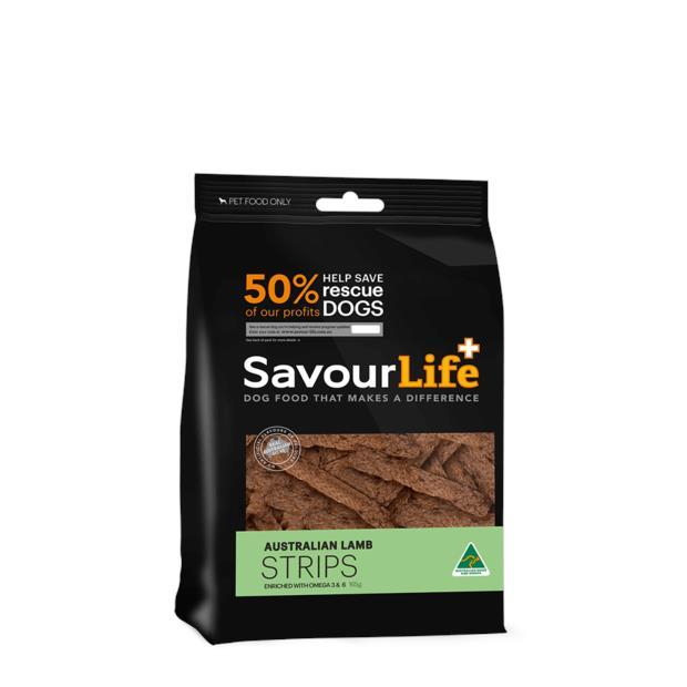 Savourlife Lamb Strips 165g