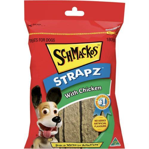 Schmackos Strapz with Chicken 180g