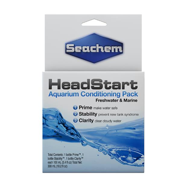 Seachem Head Start 3 Pack 100ml