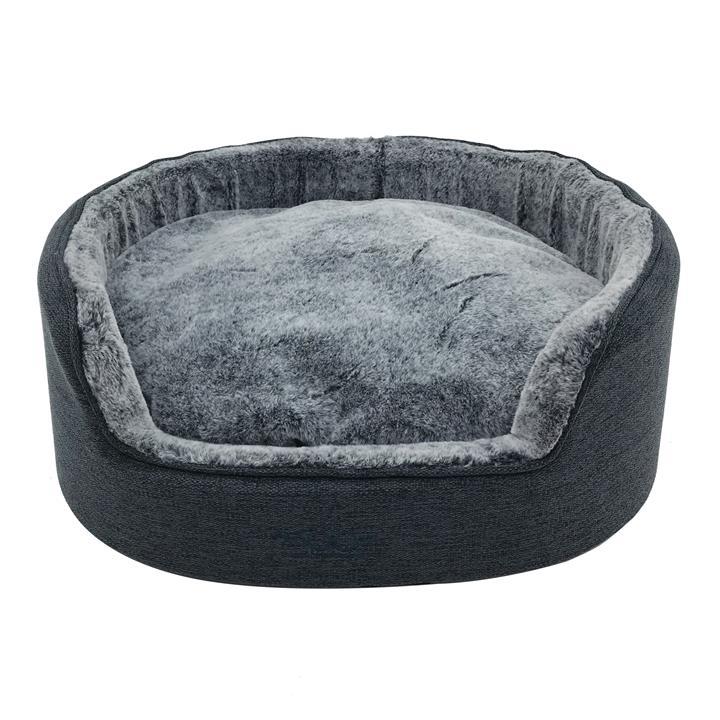 Snooza Buddy Bed Chinchilla Dog Bed Extra Large