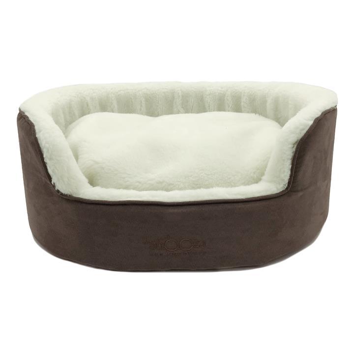 Snooza Buddy Bed Mocha Dog Bed Small