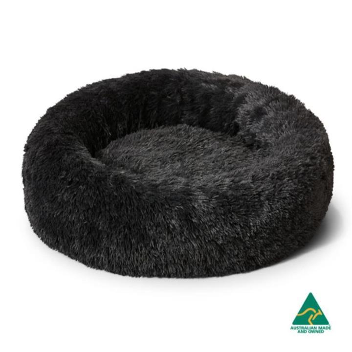 Snooza Calming Cuddler Charcoal Dog Bed Medium