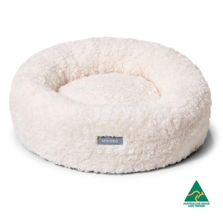 Snooza Calming Cuddler Natural Dog Bed Extra Large