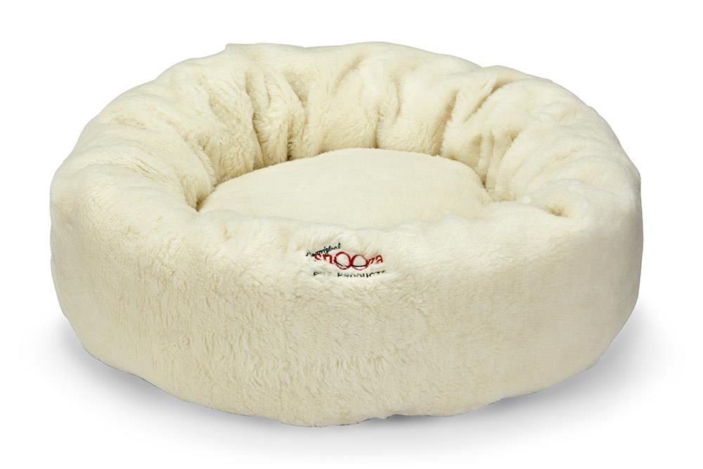 Snooza Calming Cuddler Natural Dog Bed Medium