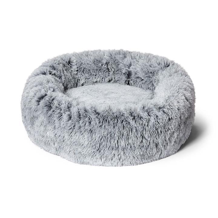 Snooza Calming Cuddler Silver Fox Dog Bed Medium