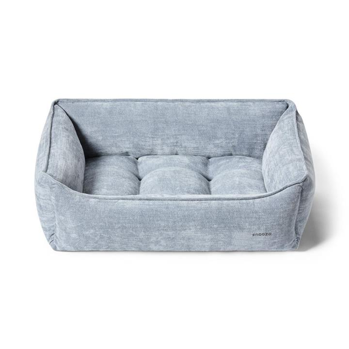 Snooza Chaise Lounge Smoke Dog Bed