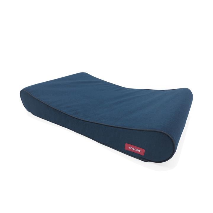 Snooza Ortho Lounger Dog Bed Blue Medium