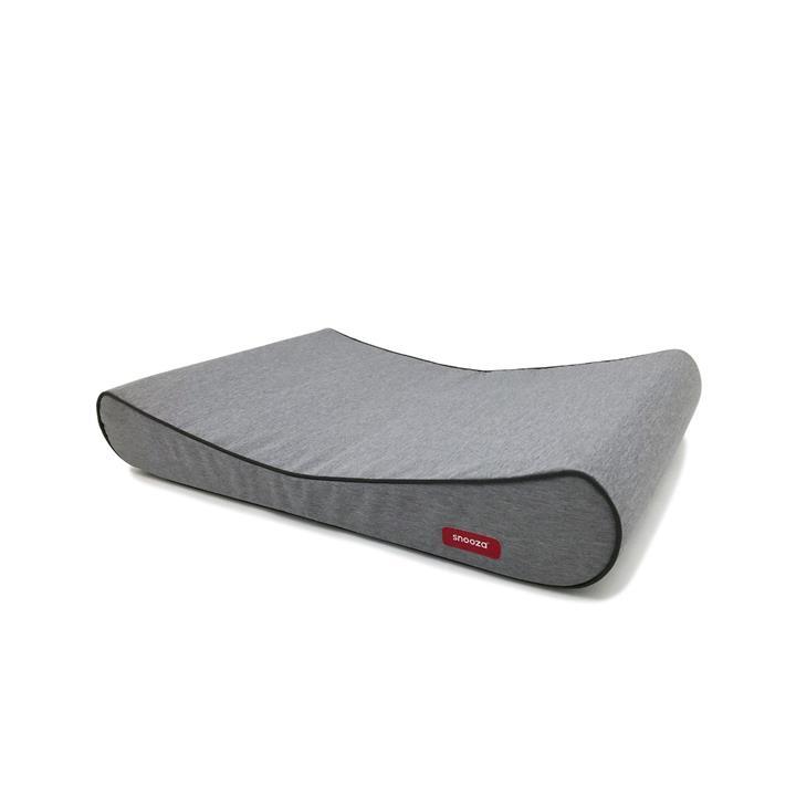 Snooza Ortho Lounger Dog Bed Grey Medium