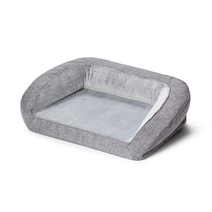 Snooza Ortho Sofa Dog Bed Grey Soho Medium
