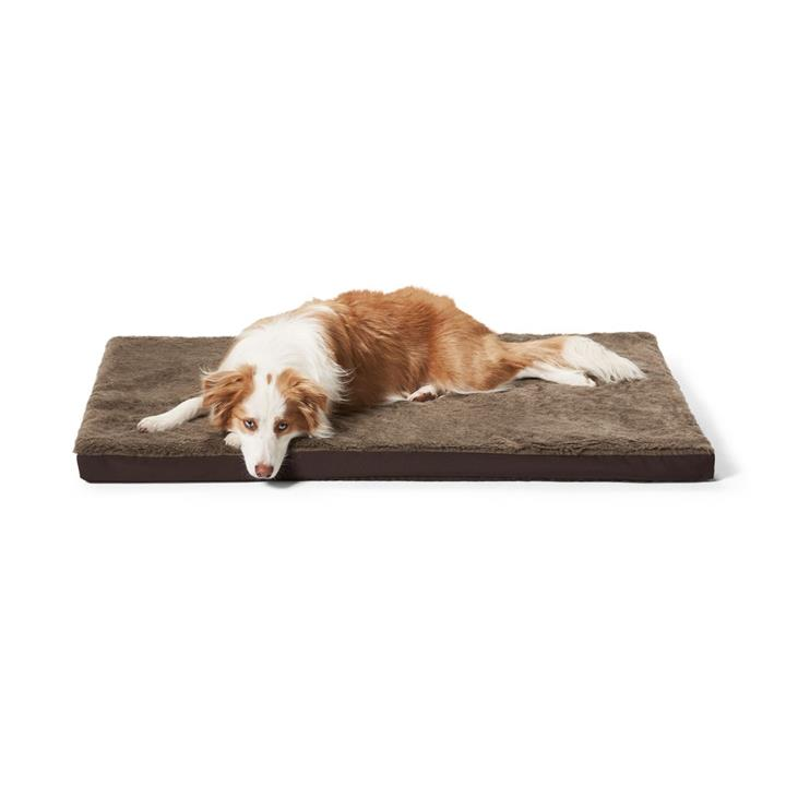 Snooza Orthobed Large Brown Dog Bed