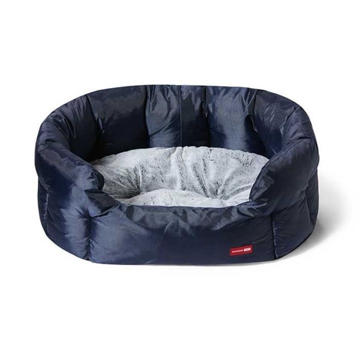 Snooza Supa Snooza Tuff Navy Dog Bed Large