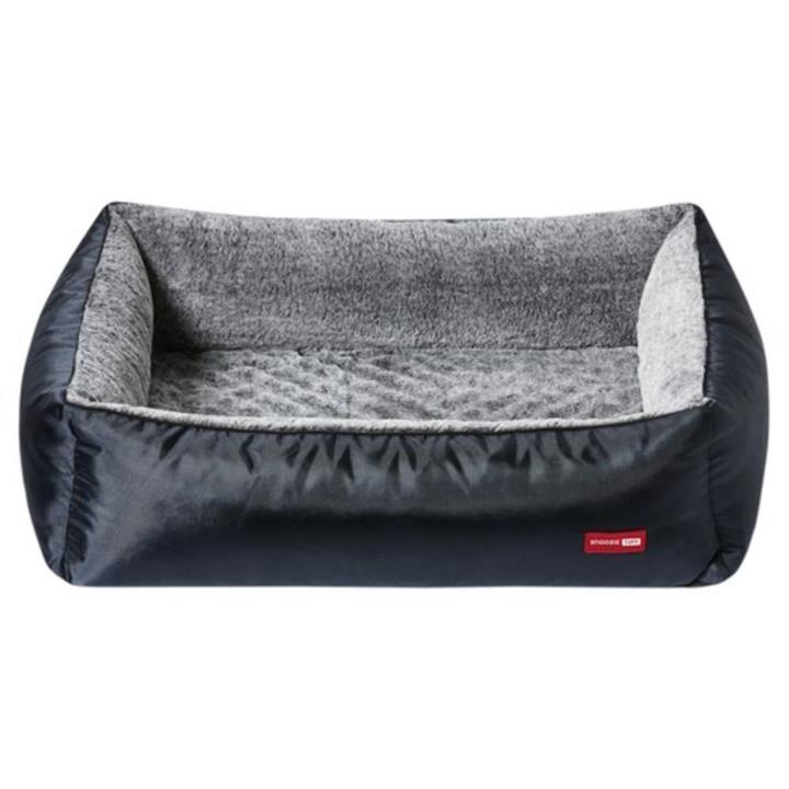 Snooza Tuff Snuggler Indigo Dog Bed Medium