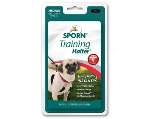 Sporn Halter Dog Harness Medium Black