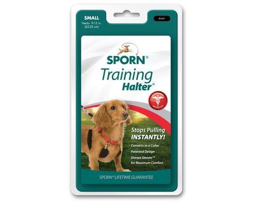 Sporn Halter Dog Harness Small Black