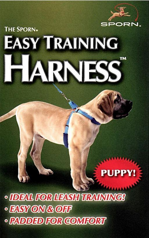 Sporn Puppy Easy Training Harness Blue Extra Large