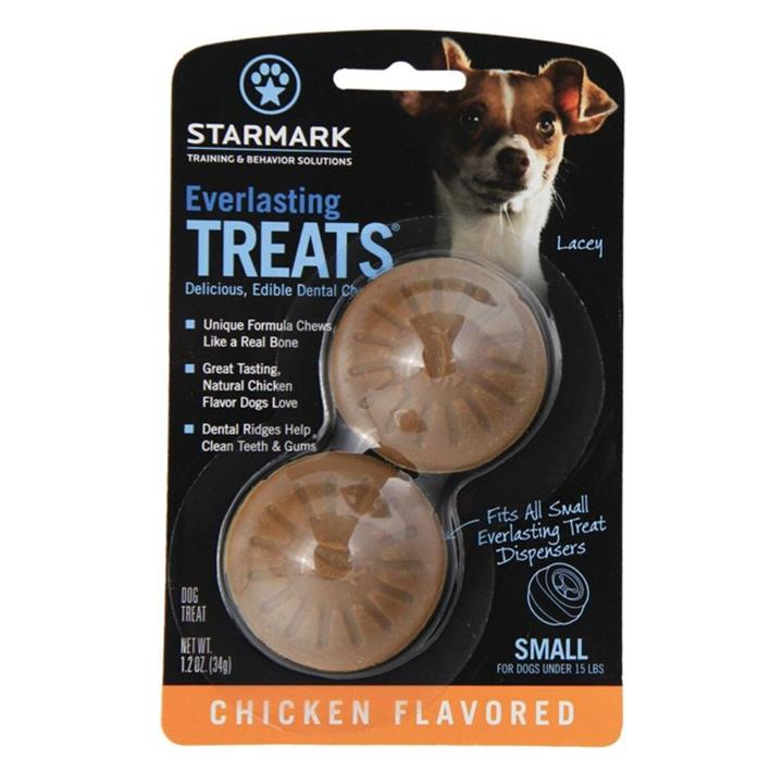 Starmark Everlasting Treat Ball Dog Toy Chicken Refill