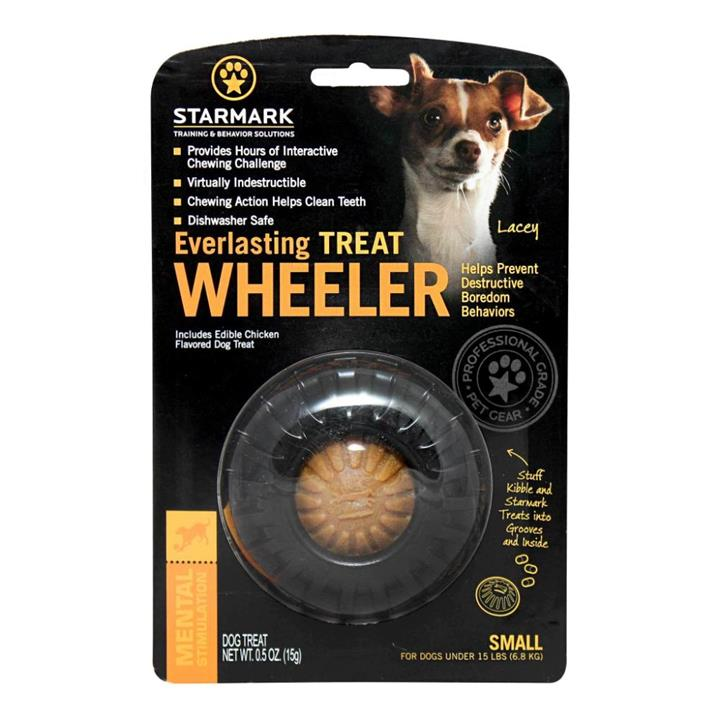 Starmark Everlasting Treat Wheeler Dog Toy