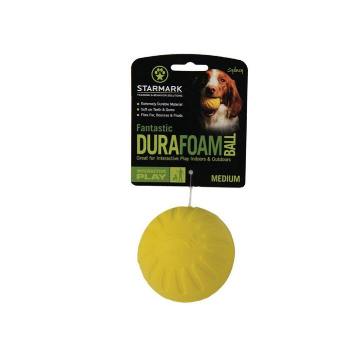 Starmark Fantastic Durafoam Ball Dog Toy