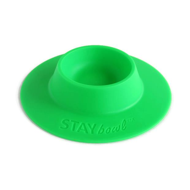Staybowl Tip Proof Bowl Spring Green Small