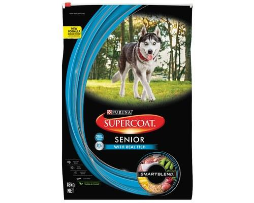 Supercoat Dog Senior Tuna 18kg
