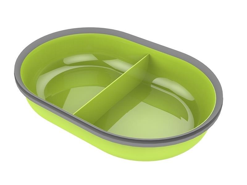 Surefeed Feeder Split Bowl by Sureflap-Green
