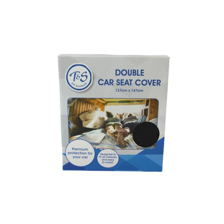 T & S Double Dog Car Seat Cover