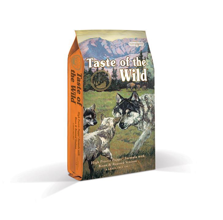 Taste Of The Wild Grain Free High Prairie Bison & Venison Puppy