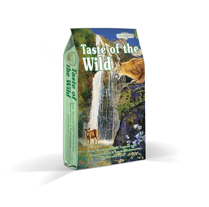 Taste Of The Wild Grain Free Rocky Mtn Venison & Salmon Feline