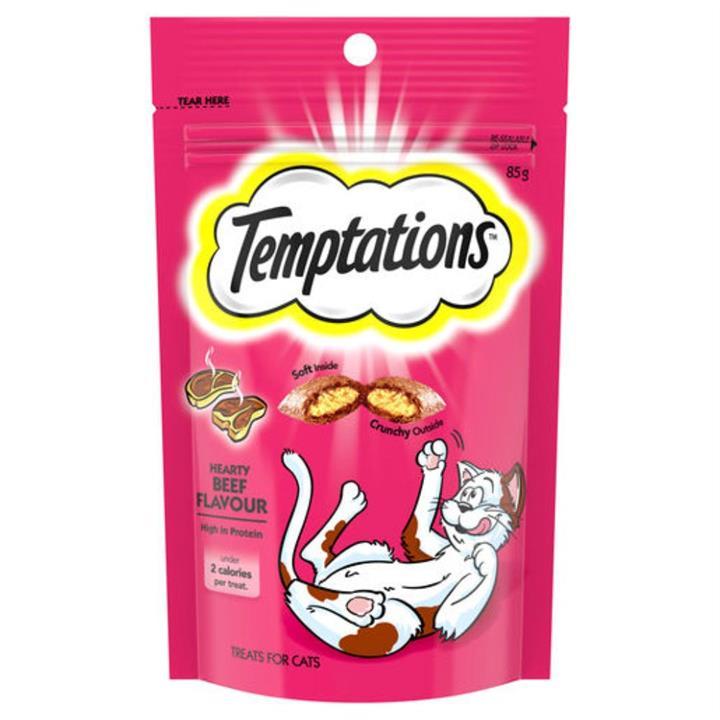 Temptations Hearty Beef Cat Treat