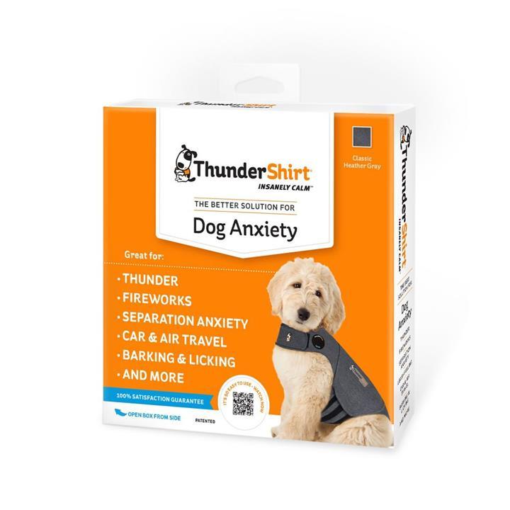 Thundershirt Dog Anxiety Jacket Grey Extra Small