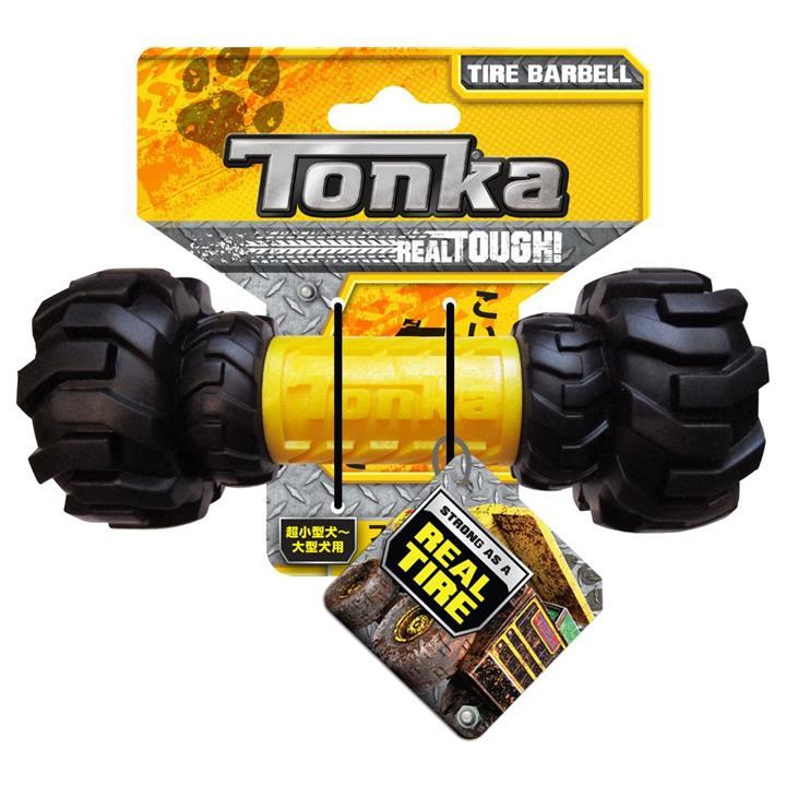 Tonka Axel Tread Interactive Feeder Dog Toy 17.5cm