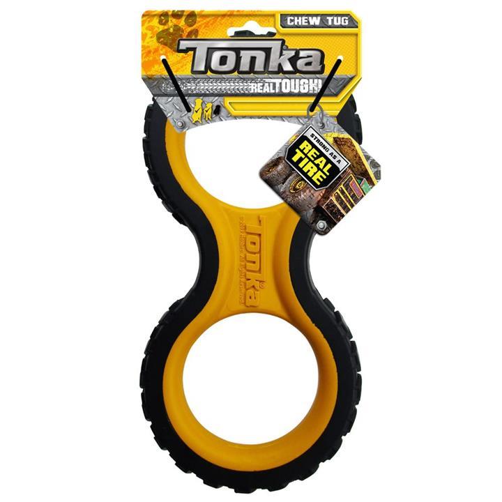 Tonka Infinity Tread Tug Dog Toy 29cm