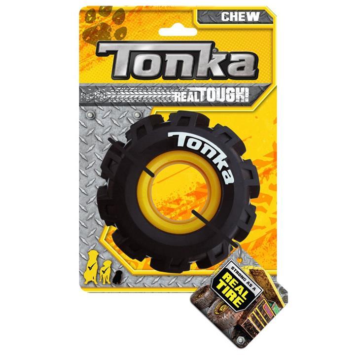 Tonka Seismic Tread Tyre Dog Toy 12.5cm