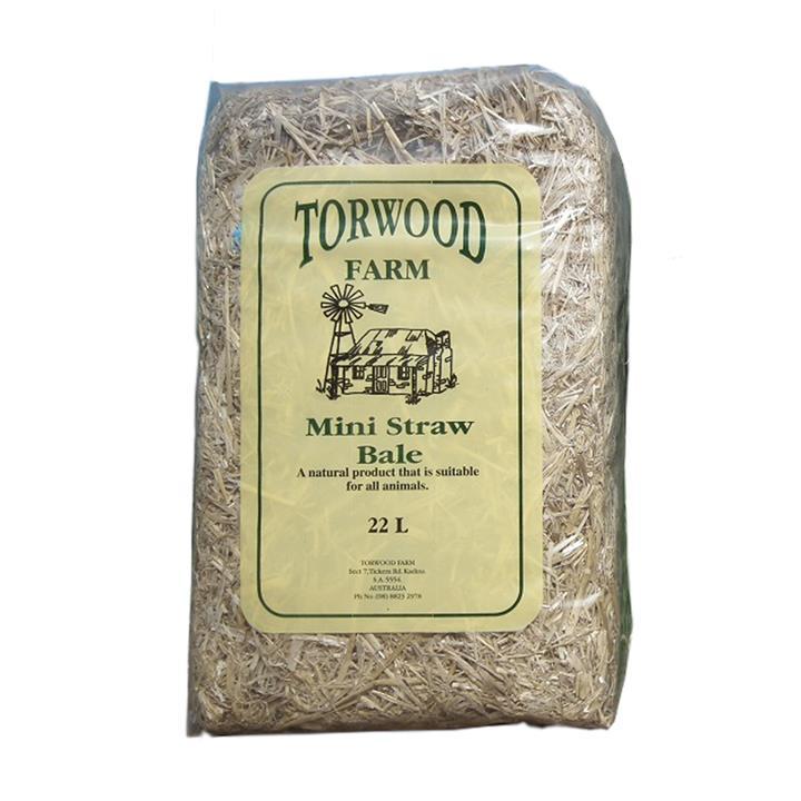 Torwood Farms Mini Straw Bale 22L