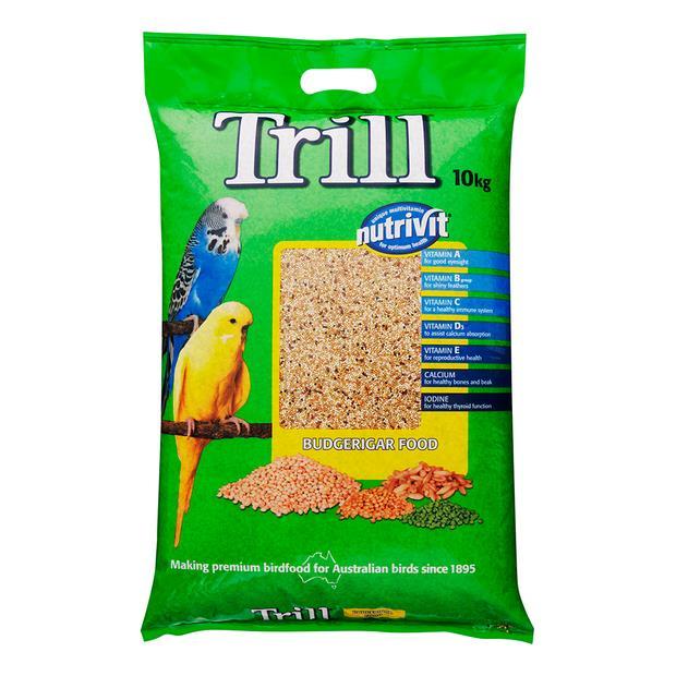 Trill Budgie Mix 10kg